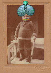 A Child from 1922 (a found photo)